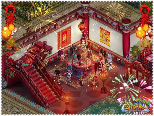 神话贺岁版 欢天喜地度新春 - 《梦幻诛仙2》官