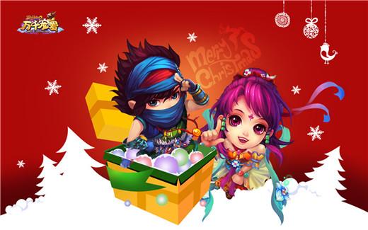 甜美可爱的圣巫教小姑娘搭配可爱的雪人宝宝